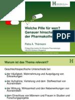 Welche Pille für wen? Genauer hinschauen in der Pharmakotherapie