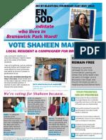 Conservative Brunswick Park by-election 2