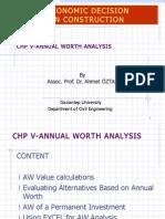 CE533 Chp5 AW Analysis