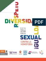 Conapred. Guía contra la homofobia