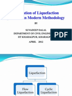 Ppt on Evaluation of Liquefaction Potential in Modern Methodology