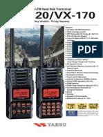VX-120 170 Brochure