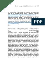 Ana Paula Diniz Violencia c Mulher