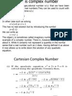 GEC 210 Complex Number