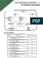 CA IPCC Branch Accounts