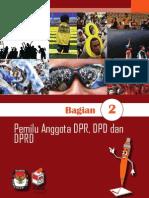 2. Buku Saku - Pemilu Anggota DPR, DPD, Dan DPRD - Data KPU
