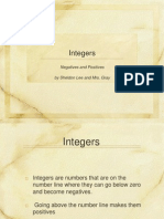 Integers Ppt