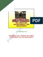 Perfil Psicologico Del Secuestrable y El Delincuente 06-01