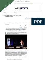 4 Characteristics of Effective Communicators _ Michael Hyatt