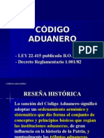 Clase Set 2011 Codigo Aduanero