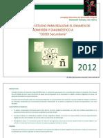 COEDI Guia Examen Sec Und Aria 2012