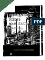 Estimators Piping Manhour Manual
