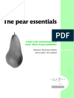 The Pear Essentials - Food Facts