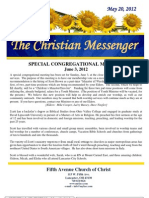 May 20 Newsletter