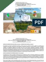 Boletín Agrometeorológico Mensual Pronóstico MAYO 2012
