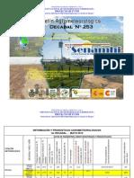1er Decadal Nro. 253-Mayo-Chaco-Bermejo Camiri, Villa Montes y Yacuiba