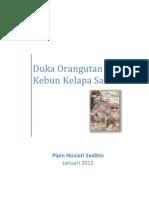 2012 Sawit vs Orangutan