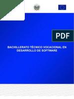Plan de Estudios Desarrollo de Software - El Salvador