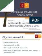 Avaliação de Desempenho na Adm. Central e Local