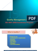 ISO 9001 2008 Awareness