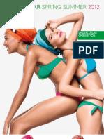 Under Colors SS2012 Beachwear Catalogue