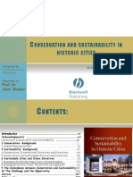 Conservation and Sustainability in Historic Cities Book Review