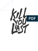 Kill You Last by Todd Strasser extract