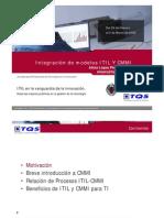 Integración de modelos ITIL Y CMMI