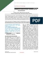 Editorial ; Mutallik M.(May 2012) Manuscripts