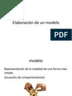 Elaboración de un modelo