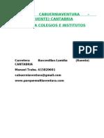 Parque Cabuerniaventura Prog Colegios e Institutos 2011 2012