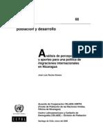 Análisis de percepciones y aportes para una política de migraciones internacionales en Nicaragua
