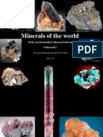Minerals of the World With an Excellent Portable Mineral Software-By Annafarahmand and Michael Webber