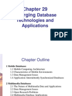 Emerging Database Tech & Applications