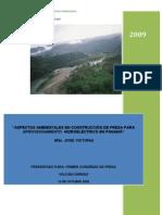 Presas y Ambiente en Panama
