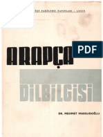 Arapça Dilbilgisi    DR. MEHMET MAKSUDOĞLU