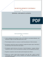 8. Zoning and Development Controls