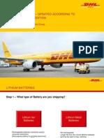 DHL Lithium Batteries