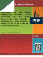 Protocolo de Investigacion y Marco Teorico Carlos