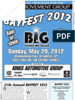 Bay Fest 2012 Program Guide Proof