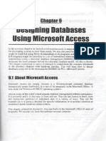 Database Design Using Access Chapter 9