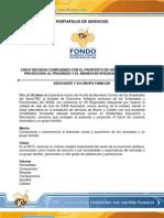 Port a Folio de Servicios Fbc