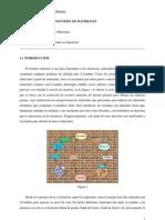 Tema 1. La Ciencia e Ingenieria de Materiales