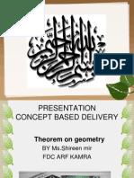 Ppt Presentation on Theorem 1