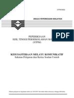 922 SP Kesusasteraan Melayu Komunikatif(28mac2012)