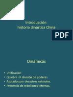 1. Historia dinástica china