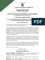 resolucion 068 2002