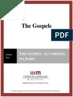 The Gospels - Lesson 5 - Transcript