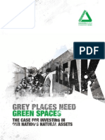 Grey places need green spaces