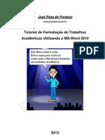 _Formatação de Trabalho Acadêmico - Word 2010 (JRF)